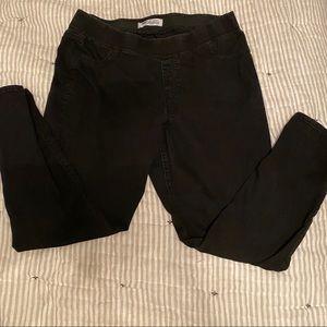 Old Navy Leggings black denim size 18